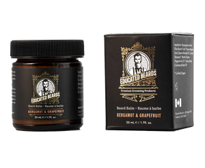 Bergamot & Grapefruit beard balm 50ml bottle