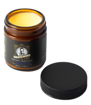 Balsam Beard Balm 50 ml jar with its cap off