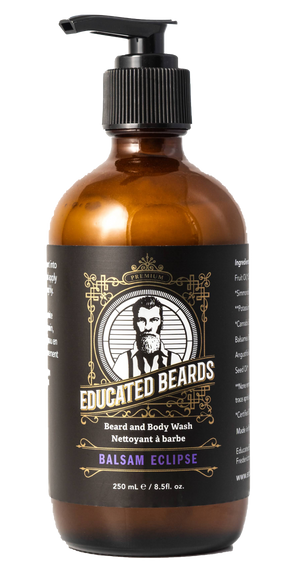 Beard and Body Wash Balsam Eclipse dispenser bottle