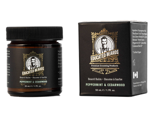 Peppermint & Cedarwood beard balm 50ml bottle
