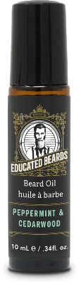 Peppermint & Cedarwood 10ml Beard Oil | Educated Beards