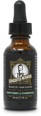 Peppermint & Cedarwood 30ml Beard Oil | Educated Beards