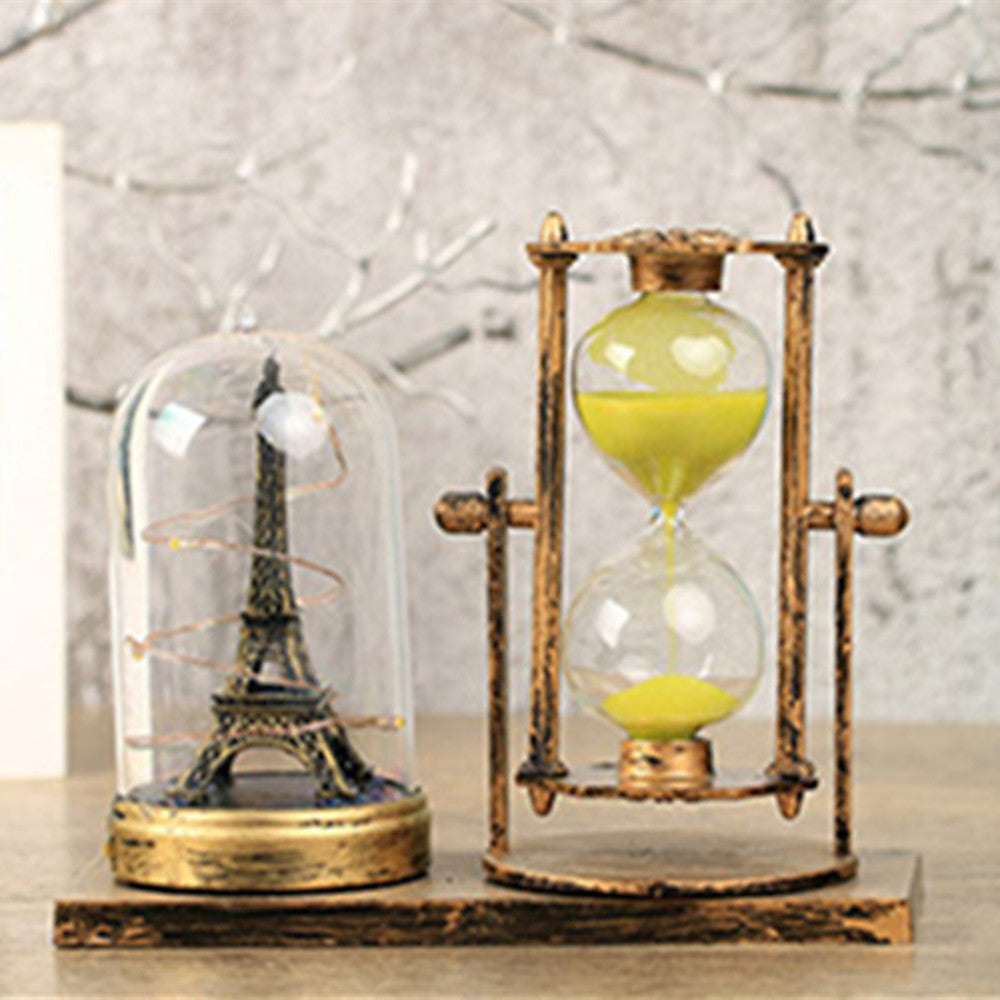 Decorative Objects, Glass Plastic Metal Modern Contemporary Glow for Home Decoration Gifts 1pc