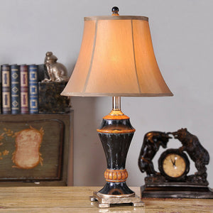 Simple Decorative Table Lamp For Bedroom Resin 220V