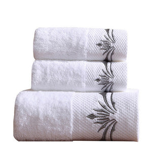 Superior Quality Bath Towel Set, Reactive Print 100% Polyester 2 pcs