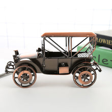 Load image into Gallery viewer, Classic car model iron art display