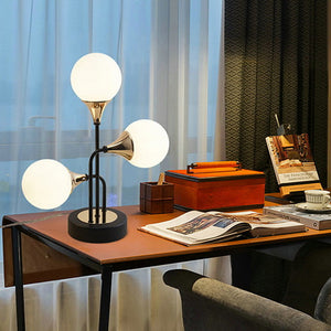 Simple Decorative Table Lamp For Hallway / Shops / Cafes Metal 220V