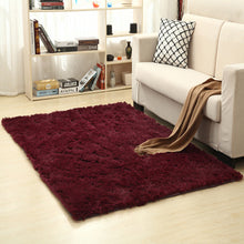 Load image into Gallery viewer, Solid Rugs Pink Puple Carpet Thicker Bathroom Non-slip Mat Area rug for living room Soft Child Bedroom Mat Vloerkleed
