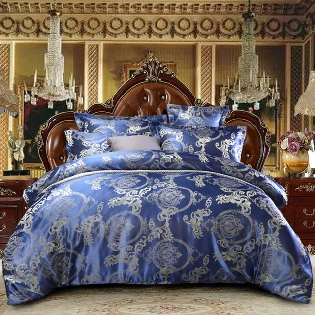 Claroom luxury comforter set Comfortable Bedding Set Solid color bed linens simplicity Duvet Cover Pillowcase 3Pcs (no sheet)