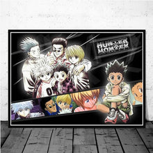 Load image into Gallery viewer, HD Print Painting Home Decor Hunter X Hunter Classic Japanese Anime Canvas Poster Pictures Modern for Living Room Frame Wall Art
