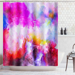 Sunset Natural scenery shower curtain  Waterproof Polyester Fabric Bath Curtain for Bathroom with 12 Hooks Home Decor