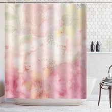 Load image into Gallery viewer, Sunset Natural scenery shower curtain  Waterproof Polyester Fabric Bath Curtain for Bathroom with 12 Hooks Home Decor