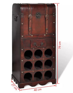Wooden Classical Wine Rack