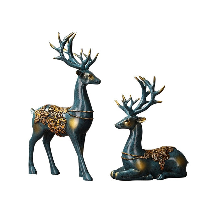 Deer Couple Decoration