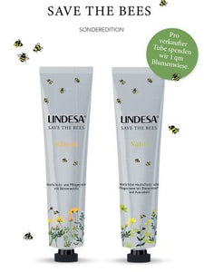 "Lindesa Hautschutzcreme ""Natur"" - Sonderedition ""Save the bees"""