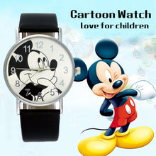 Load image into Gallery viewer, Hot Sales Lovely Mickey Children's Watches Girls Boys Gift Fashion Crystal Dress Children Quartz Wristwatches Kids Watch Clock