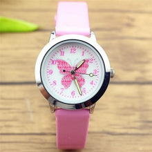 Load image into Gallery viewer, 2019 New Fashion Brand Children's Watches Kids Quartz Watch Student Girls Cute Colorful Butterfly Dial Waterproof Watch