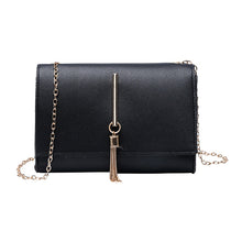 Load image into Gallery viewer, Lady Shoulders Tassel Package Letter Purse Mobile Phone Messenger Bag Luxury Large Capacity Bag Ladies Leather Handbags