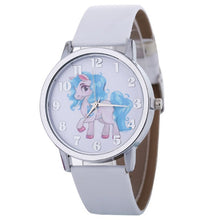 Load image into Gallery viewer, Unicorn Watch Children's Watch Carton Animal Kids Girls Leather Band Analog Alloy Quartz Watches Wristwatches