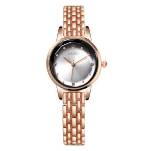 Quartz Watch Woman's High-end Glass Life Waterproof Distinguished women watches Dress watch Party decoration gifts Female