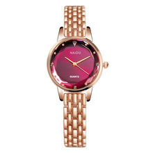 Load image into Gallery viewer, Quartz Watch Woman's High-end Glass Life Waterproof Distinguished women watches Dress watch Party decoration gifts Female