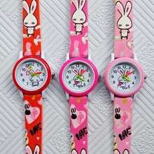 Load image into Gallery viewer, 2019 New fashion Children's watches White Rabbit Children Watches for Kids Boys Girls Clock Baby Gift Casual Quartz Wristwatches