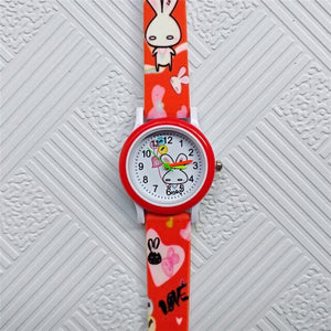 2019 New fashion Children's watches White Rabbit Children Watches for Kids Boys Girls Clock Baby Gift Casual Quartz Wristwatches