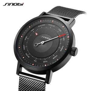 Fashion Watch Men Sports Watches SINOBI New Creative Man's Quartz Wrist Watch Male Military Clock Casual Army Relogio Masculino