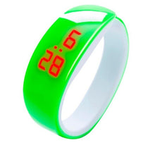Load image into Gallery viewer, 2018 New LED Children's Cute Candy Color Digital Display Bracelet Watch Students Silica Gel Sports Watch Multicolor Selectable