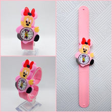 Load image into Gallery viewer, Relogio Infantil Cartoon 3D Life Waterproof Anime Kids Watches Rubber Quartz Children's Watch for Girls Boys Cute kid Clock Baby