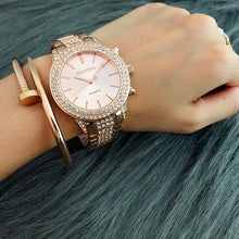 Load image into Gallery viewer, Famous Brand Woman Watch 2019 Designer Contena Ladies Watches Rhinestone Full Diamonds Dress Woman's Watches For Women relojes
