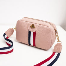 Load image into Gallery viewer, Beibaobao Female Casual Rectangle Shape Mini Portable Single-Shoulder PU Leather Phone Coin New Trend Handbag Crossbody Bag