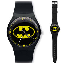 Load image into Gallery viewer, Black personality children's watch cartoon Batman silicone men's sports watch girl birthday gift clock kol saati