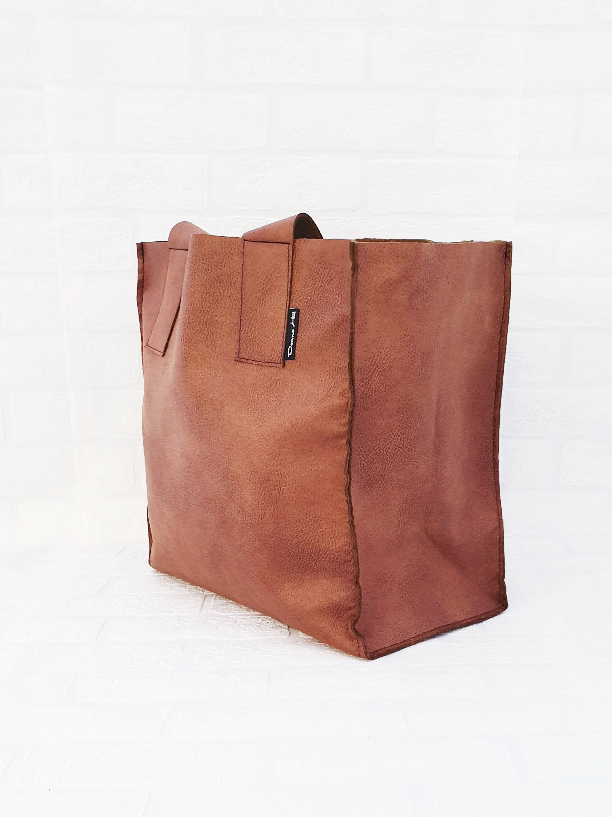 The Complete Tan Shopping Bag Set