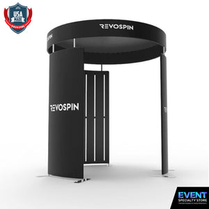 360 Deluxe LED Photo Booth Enclosure