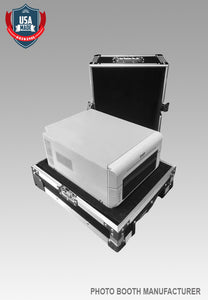 DNP 620A Printer Travel Road Case w/ Recessed Wheels