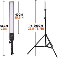 Load image into Gallery viewer, LED Video Light w/ Light Stand
