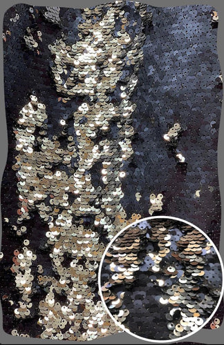 Black & Silver Sequin Mermaid Backdrop