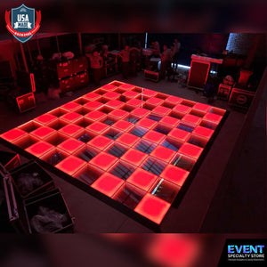 12 x 12ft 49 Panels 3D Infinity & Solid Top Lighting USA