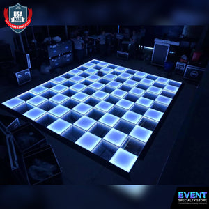 16 x 16ft 100 Panels 3D Infinity & Solid Top Lighting USA