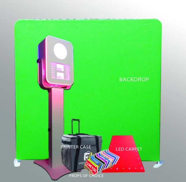 T12 LED Photo Booth Bundle Promo Package - Free Shipping