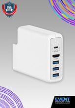 Load image into Gallery viewer, Outlet USB Adapter (3 USB 3.0 Port & HDMI Port)