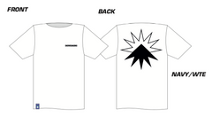 SB19 Star Short Sleeve T-Shirt - White / Black