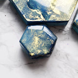 Starry Sky Mixed Marble Magnet Set