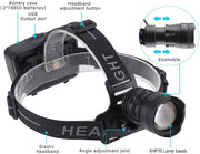 5000LM 3-Mode Rechargeable LED Headlamp - Halex Outdoor Gear / Survival / Tactical