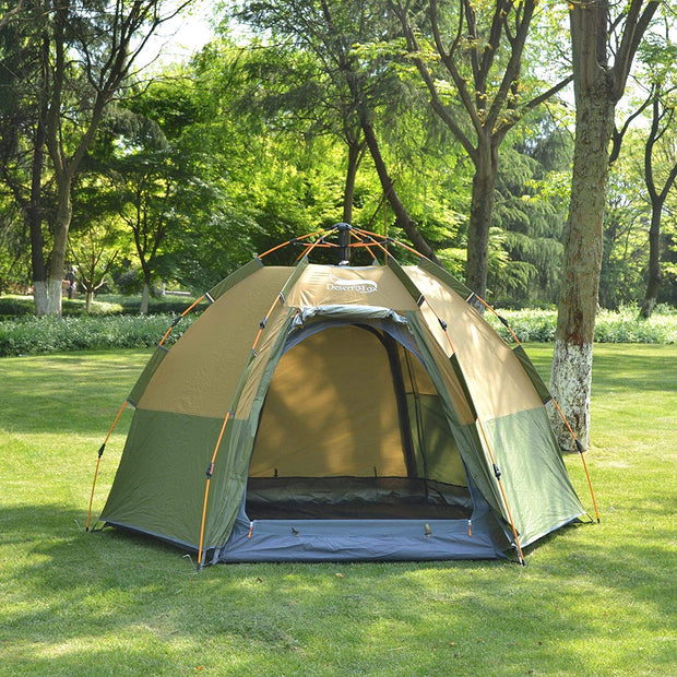 3-4 Person Pop Up Travel Tent - Halex Outdoor Gear