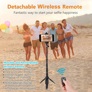 Wireless Bluetooth Selfie Stick - Halex Outdoor Gear / Survival / Tactical