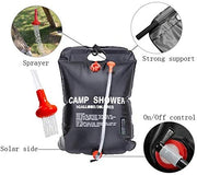 20 Liter / 5 Gallon Solar Heated Shower Bag - Halex Outdoor Gear