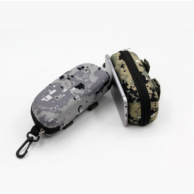 Tactical Goggle Case w/ MOLLE System - Halex Outdoor Gear / Survival / Tactical