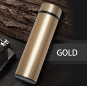 500 ML STAINLESS STEEL DIGITAL THERMOS - Halex Outdoor Gear / Survival / Tactical